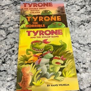 3 Tyrone the Dinosaur Books